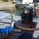 Hydraulmotor som kan monters på standardaxel