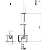 Pumpen kan fås med olika axellängd