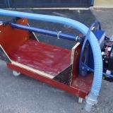 En kund gjorde denna smarta transportvagn för pumpen