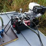 Hydraulaggregat med 13 hp motor