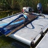 Muddringspump med 6,5 hp hydraulaggregat
