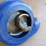 Standard pumphjul utan tandkransen monterad