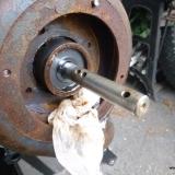 Byte av pumphjul på välanvänd pump